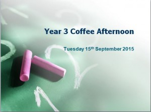 year 3 coffee afternoon