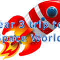 Year 3 attendance trip to Space World