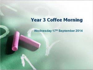 coffee morning year 3